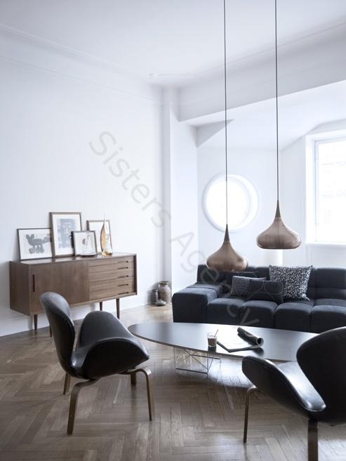 Scandinavian style home decor