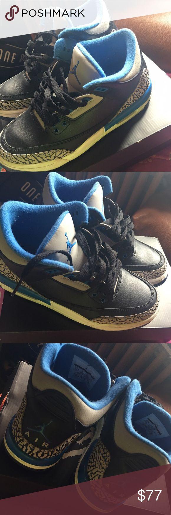 """Air Jordan Retro 3 """"Sport Blue"""" Air Jordan Retro 3 """"Sport Blue"""" Jordan Shoes Sneakers"""