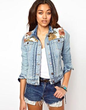 джинсовый жакет подростки - Поиск в Google