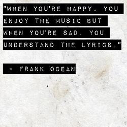 True as blue as the ocean