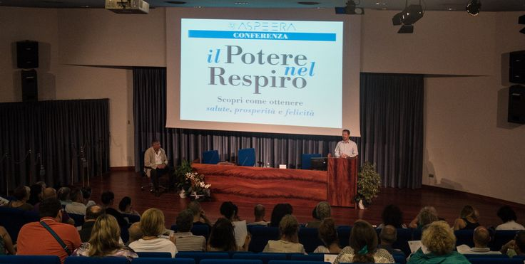 """La conferenza """"Il potere nel Respiro"""" presentata da un testimone d'eccellenza"""