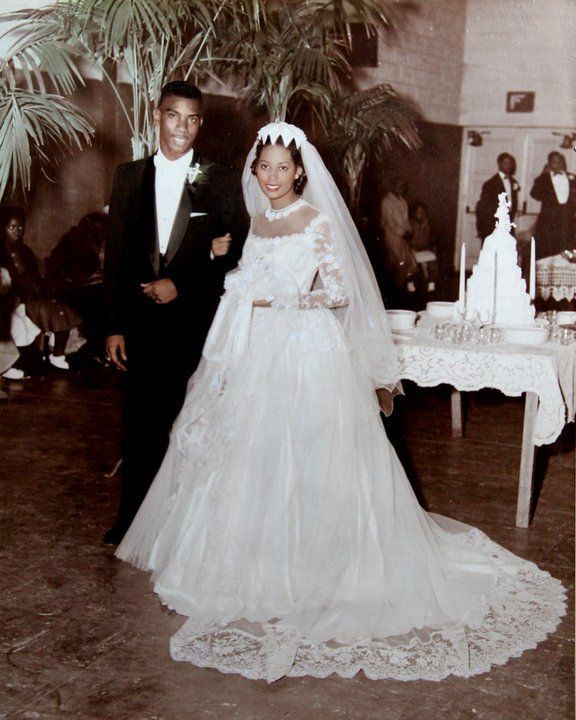 1957 Rosie and Clyde Wedding