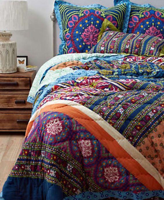 Adorable Boho Quilt Bedroom Amp Room Decorations