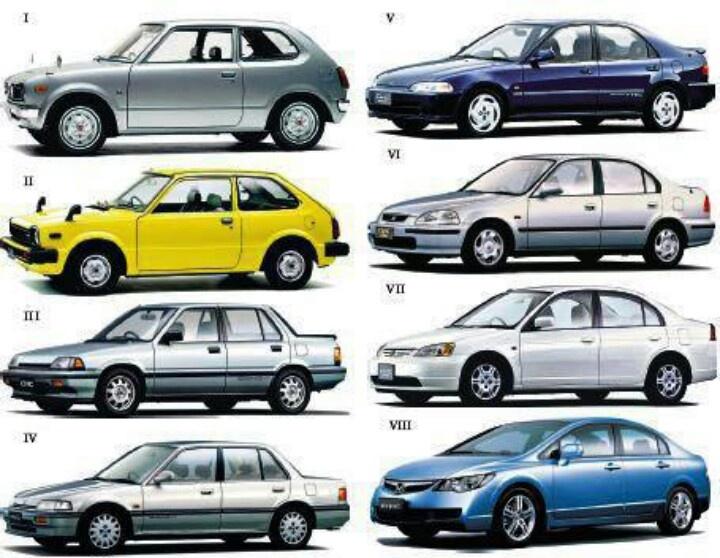 Marvelous Honda Civics, Iu0027ll Take An Gen Please!