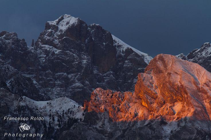 Dolomites sunset by Francesco_Roldo