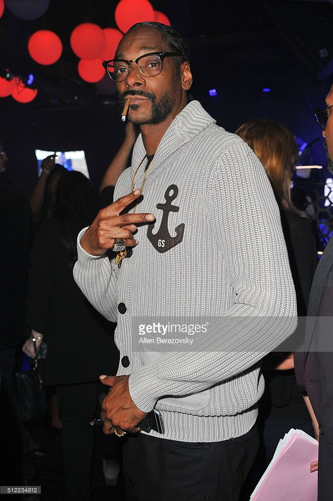 Rapper Snoop Dogg attends the All Def Movie Awards at Lure Nightclub on February 24, 2016 in Los Angeles, California.
