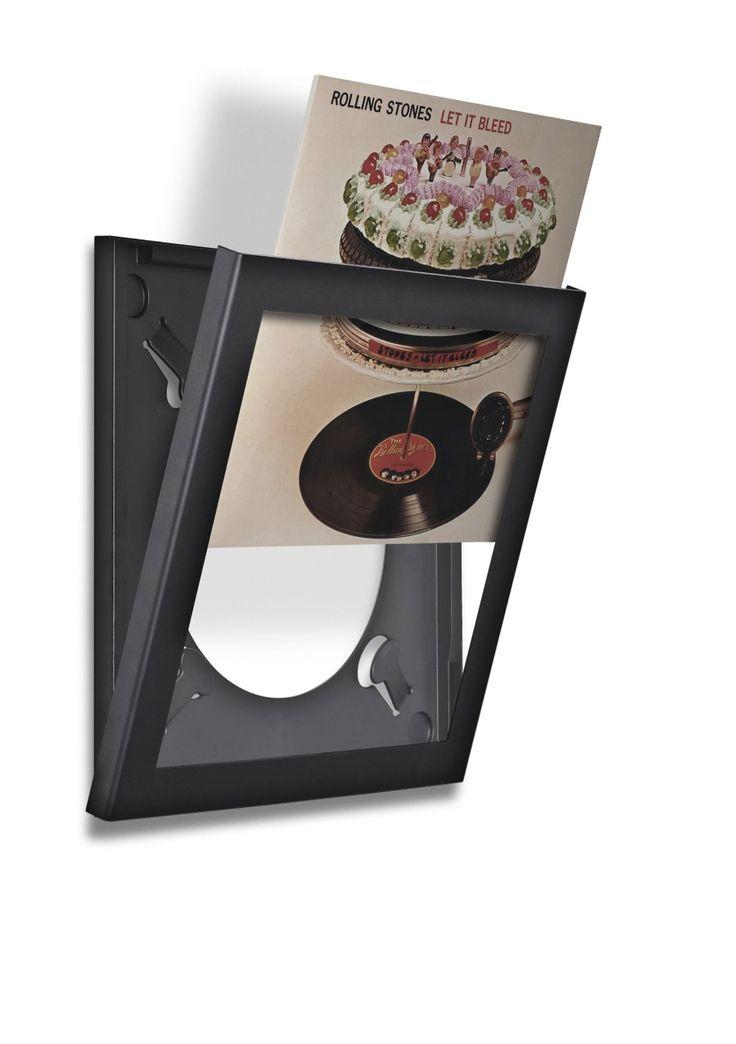 Vinylramme - Play & Display - Svart 1Pk
