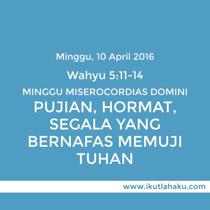 Renungan Hari Minggu 10 April 2016