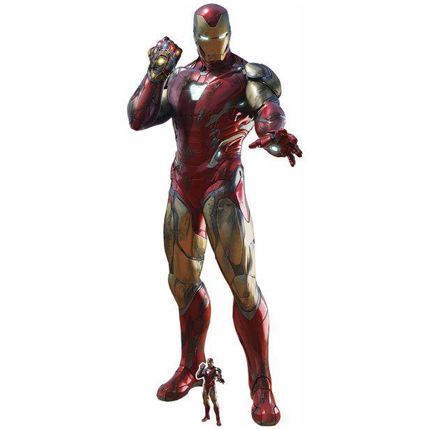 Iron Man Infinity Cardboard Cutout 1 9m Life Size Cardboard Cutout Each Iron Man Avengers Marvel Iron Man Iron Man