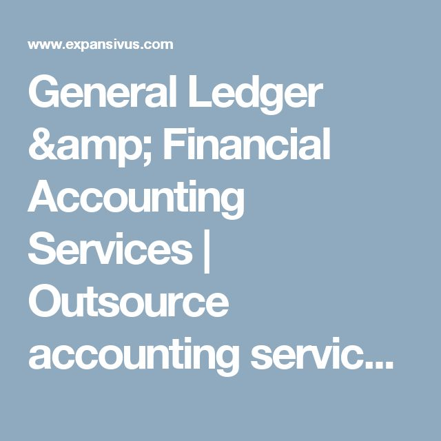 General Ledger & Financial Accounting Services | Outsource accounting services | General Ledger Reconciliations
