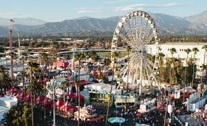 Groupon - Admission for Two with Parking or for Four with Parking and Ride Tickets to the 2013 L.A. County Fair (Up to 51% Off) in Pomona. Groupon deal price: $26.00