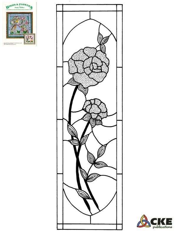 ★ Stained Glass Patterns for FREE ★ glass pattern 186 ★