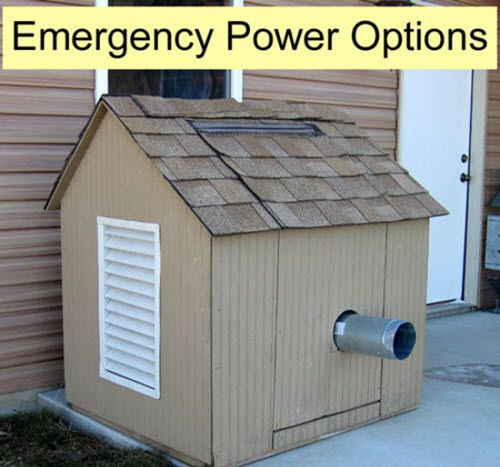 Emergency Power Options For Your Home | When emergencies strike, it is the prepared that shall make it through without much trouble.