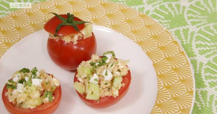 Te presentamos un tartar sin carne, unos tomates rellenos de inspiración setentera y un paté con frutos secos que te harán romper la monotonía tomatera del gazpacho y la ensalada.
