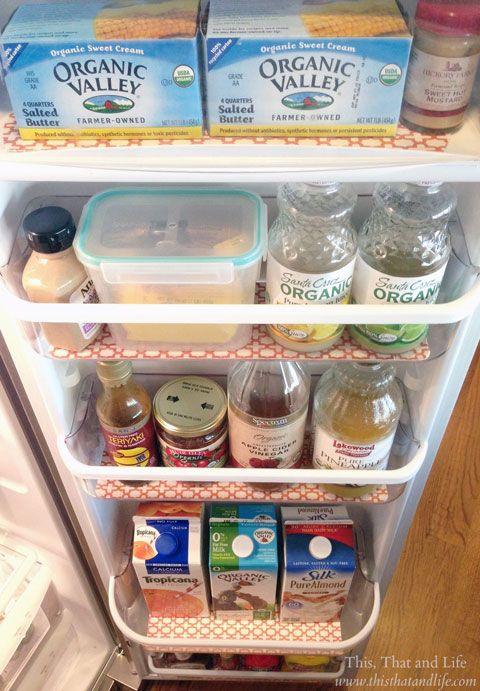 Spill It! Your Favorite Fridge Organizing Tips. Fridge Coaster & Iheartorganizing