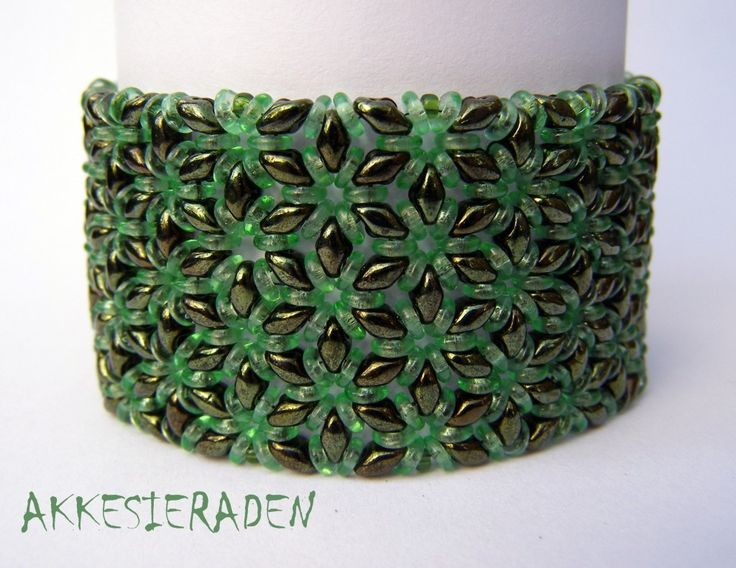 O bead bracelet - I really need to get some of these O beads....