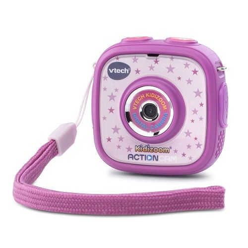 If you're on the hunt for an Action Cam for kids, there no time like the present to get the VTech Kidizoom Action Cam, purple as it's currently on sale over at