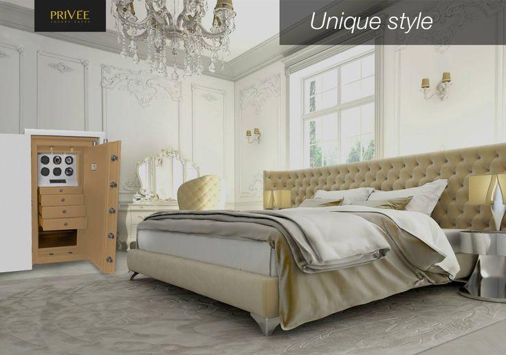 Unique style. www.privee-safes.com #Privéeluxurysafes