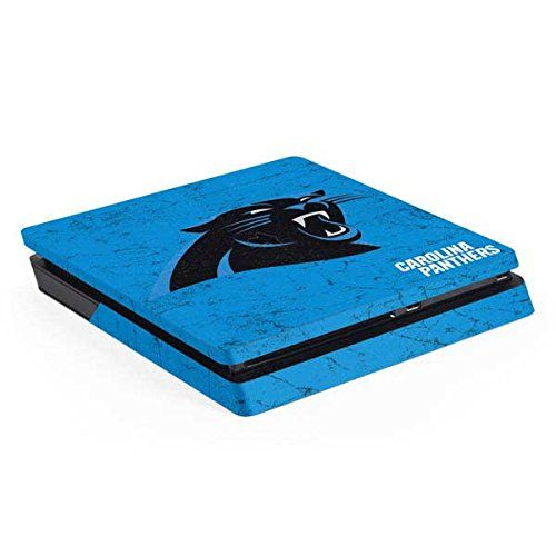 NFL Carolina Panthers PS4 Slim (Console Only) Skin - Carolina Panthers Distressed Alternate  http://allstarsportsfan.com/product/nfl-carolina-panthers-ps4-slim-console-only-skin-carolina-panthers-distressed-alternate/  Ultra-Thin, Lightweight PS4 Slim (Console Only) Vinyl Decal Protection Offically Licensed NFL Design Industry Leading Vivid Color Vinyl Print Technology