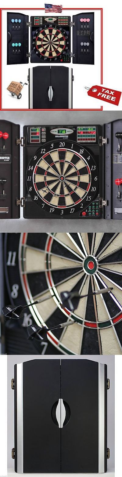 Dart Boards 72576: Electronic Pro Dart Board Team Fun Game Room Den Led Arcade Table Bar New -> BUY IT NOW ONLY: $198.99 on eBay!