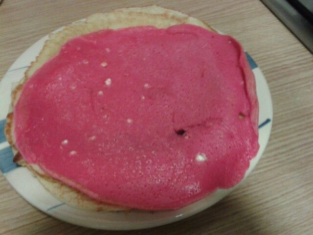 Crepes rosas♥