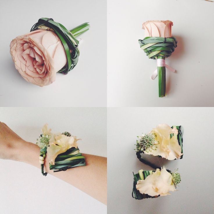 Rose boutonniere and corsage by NO NO NO
