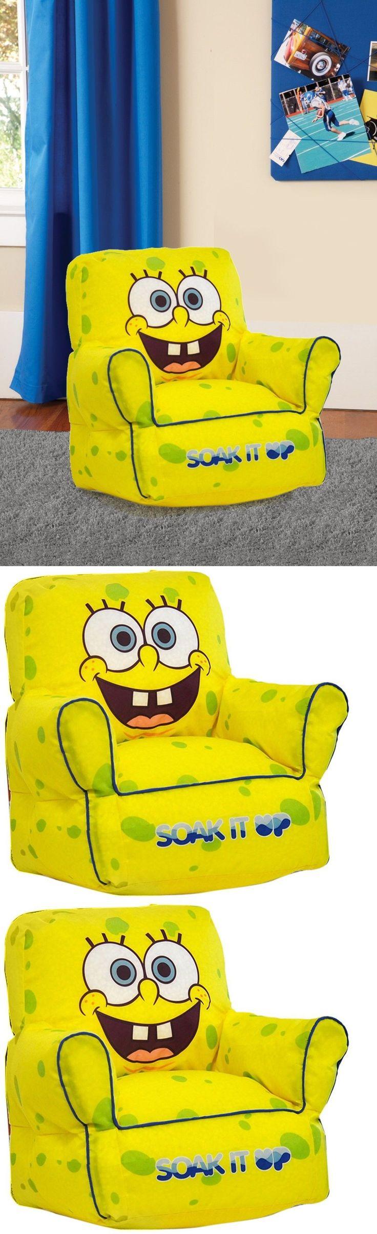 Big joe zip modular armless chair at brookstone buy now - Spongebob Squarepants 20919 Spongebob Squarepants Bean Bag Sofa Chair Easy To Clean Light Weight