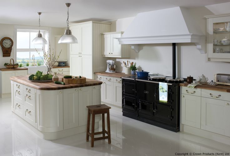 Academy Midsomer Traditional Kitchen Design in Off White
