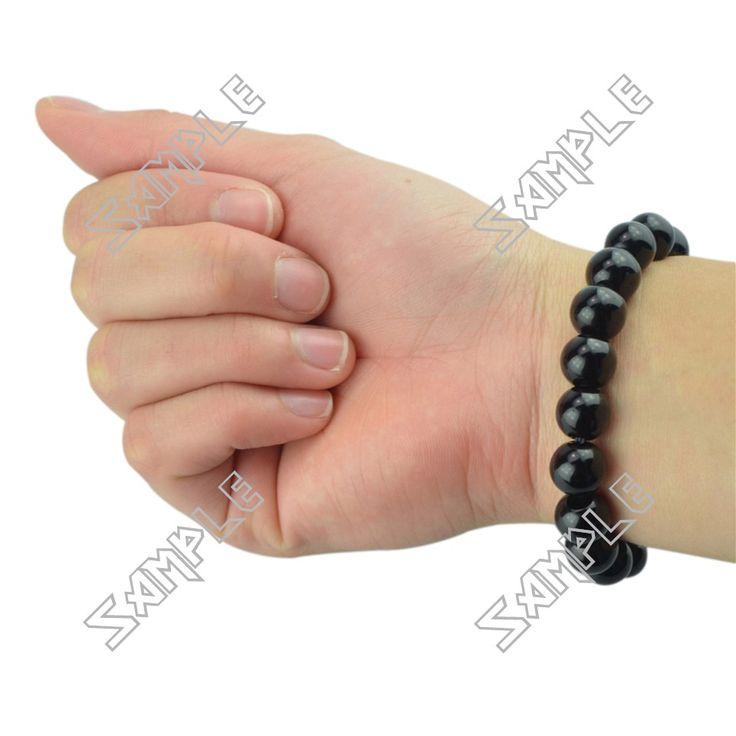 http://www.fazistore.com/black-onyx-beaded-bracelet-10mm_p76006109