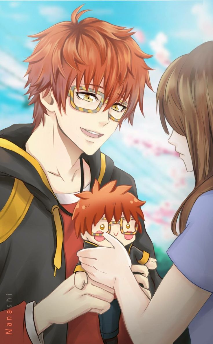 Saeyoung (Luciel/Seven/707/Defender of Justice) x Mc