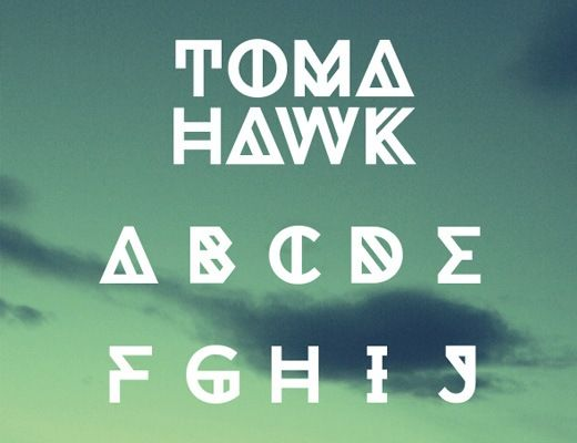 tomahawk 20 Best Free Chunky Fonts