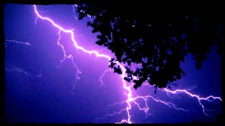 Relaxing Rain & Thunder(4 Hours) Rain Sounds Deep Sleep Relaxation Meditation...<3 GREAT <3