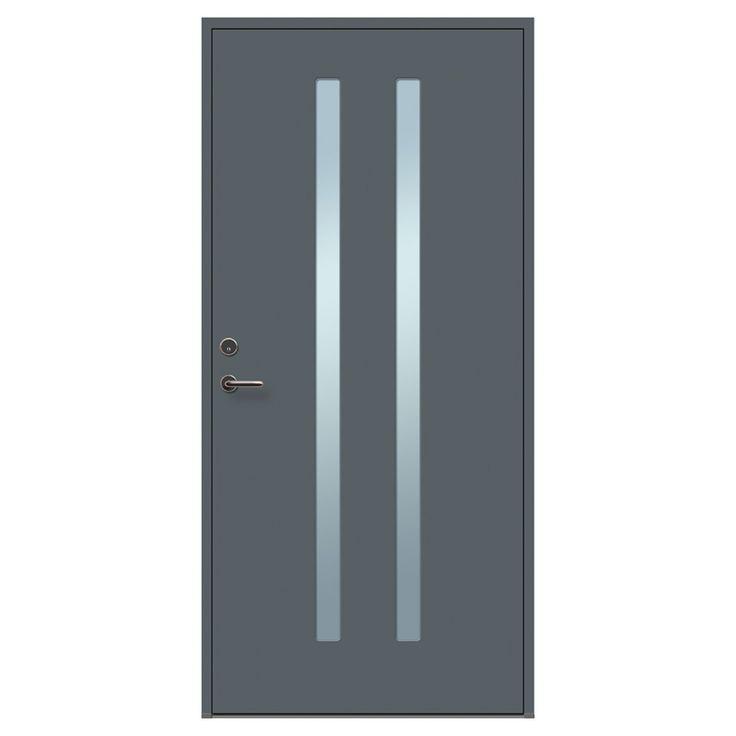 Ytterdörr Funkis  Ytterdörren speglar ofta hela husets karaktär. Behovet efter enkel design i kombination med hög kvalitet och stabil konstruktion har let