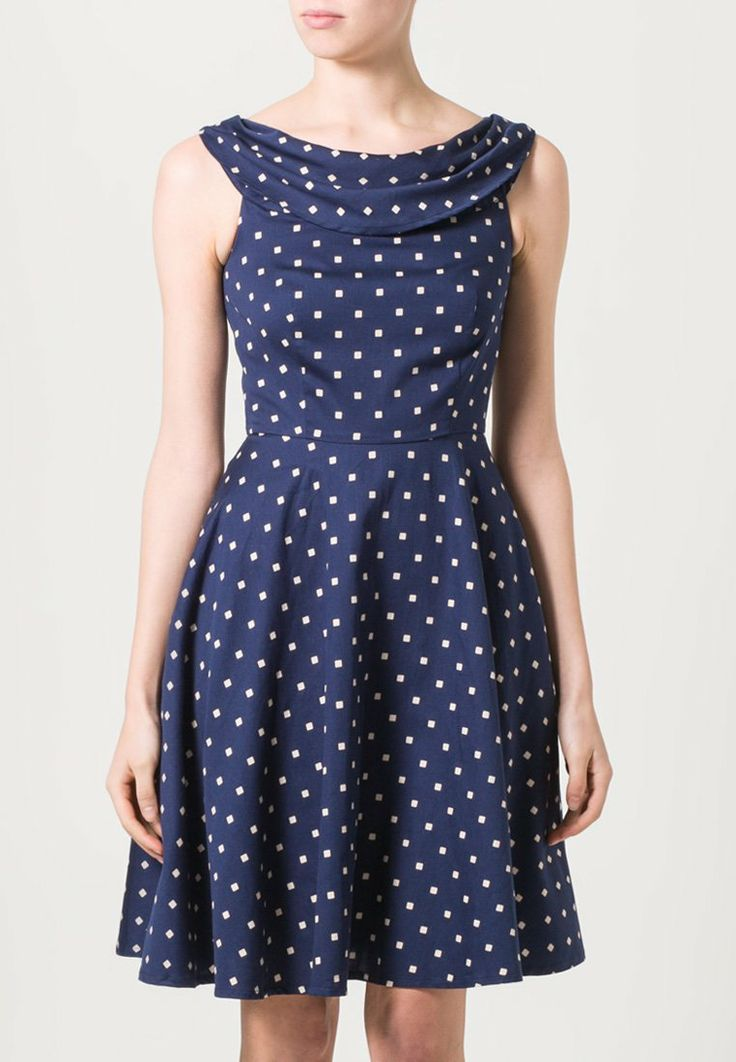 People Tree - JOSIE - Jersey Dress - Blue