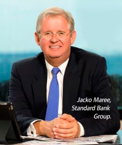 Congratulations to our colleague Jacko Maree who was honoured with a lifetime achievement award for his contribution to banking. Jacko's banking career spans more than 32 years. Of these, Jacko was Chief Executive of Standard Bank Group for 13. The Banker magazine presented the award to Jacko in London on 28 November 2013.
