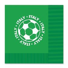 Italy Football Napkins. Perfect to use when serving nibbles or food to add the Euro 2016 theme. http://www.novelties-direct.co.uk/Italy-Football-Napkins.html