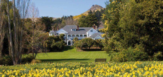 Luxury accommodation in Canterbury, New Zealand- Otahuna Lodge