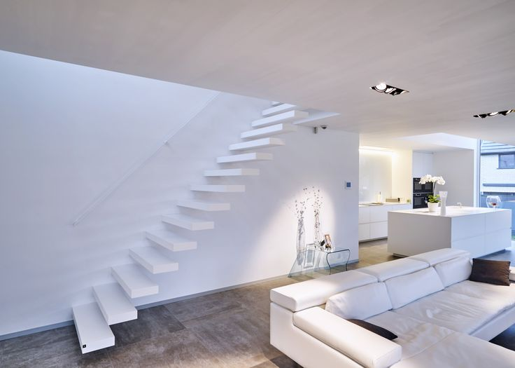 78 best images about stairs design on pinterest nice stairs and wands - Moderne trapmodel ...