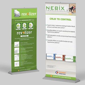 Rollup Banner Stands Printing Online Pakistan | Custom X Banner Stands Adjustable Custom X-Banner & Roll-up Stands in standard large sizes with vector design mock-up & digital online printing in Lahore, Pakistan at cheap price.