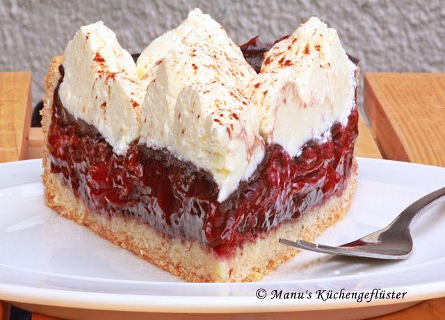 #Rotwein- #Kirschkuchen mit dem #Thermomix - #Rezept via Manus Küchengeflüster