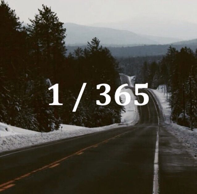 Page 1 of 365 Make it a good one.