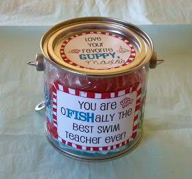 Sew God's Grace: Swim Teacher Gift