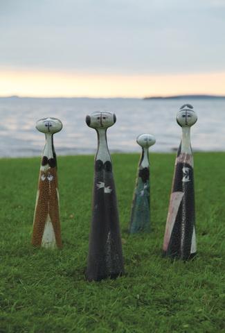 Finnish ceramic artist Birger Kaipiainen (1915–1988). Photo: Niclas Warius.
