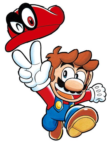 CoroCoro releases Super Mario Odyssey tribute art | GoNintendo