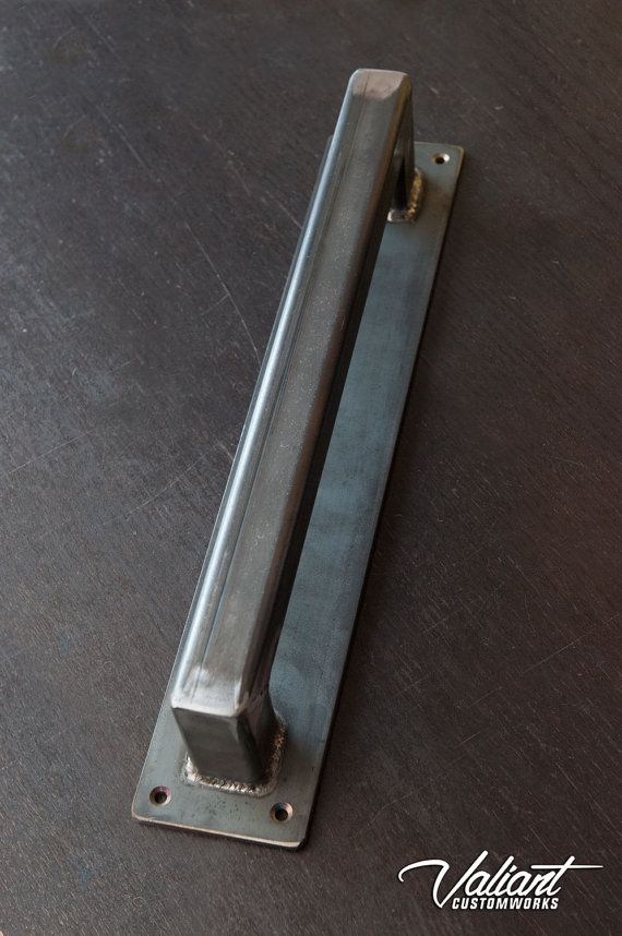 Large Steel Barn Door Handle 1 1/4 Thick by valiantcustomworks