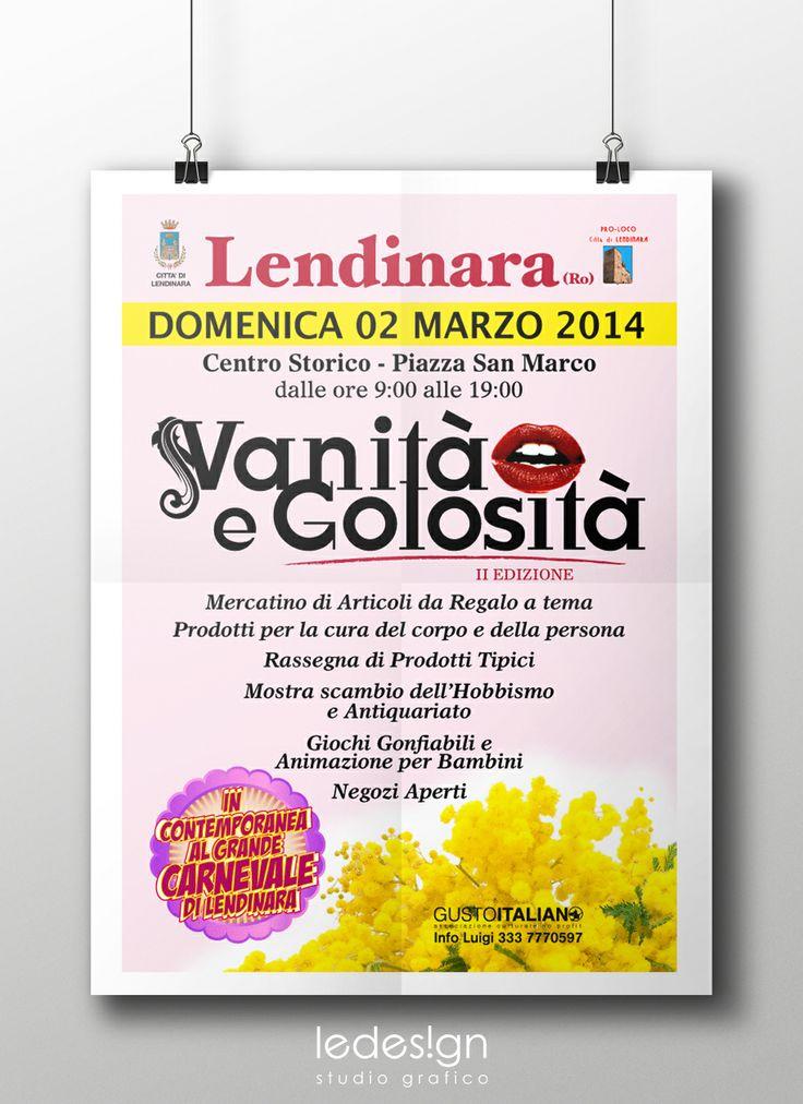 Vanità e Golosità Lendinara 2 marzo 2014