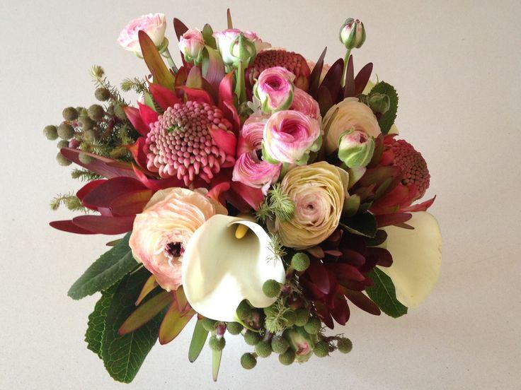 Waratah natives bouquet
