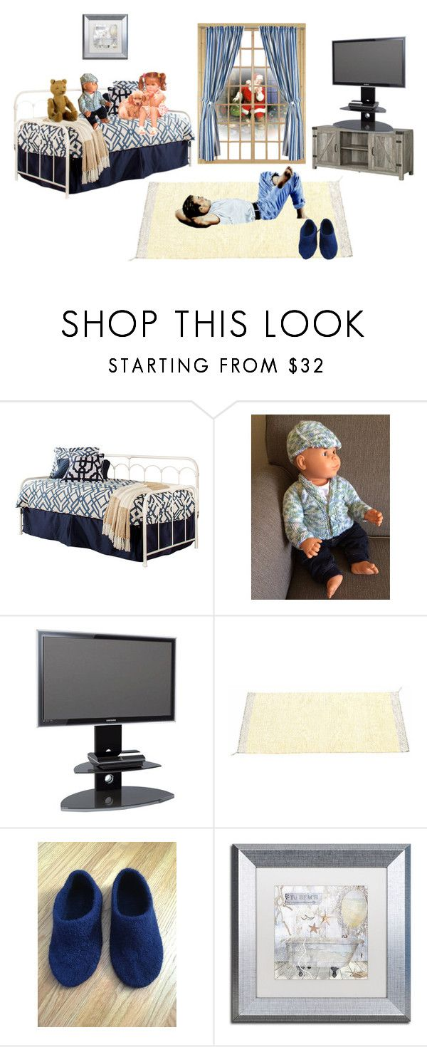 Handmade by Cozee Quilts@etsy by bamasbabes on Polyvore featuring Hillsdale Furniture, Alphason, Trademark Fine Art and Walker Edison