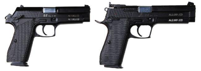 Pin Di Hand Gun