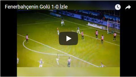 Fenerbahçenin İlk Golü İzle 1-0 Roman Neustadter